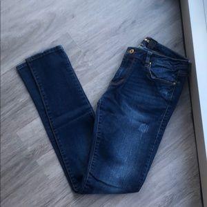 SONG Dark wash blue jeans